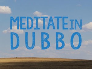 Meditate in Dubbo