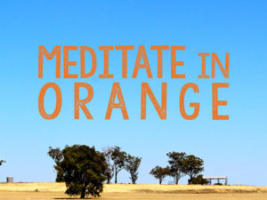 Meditate in Orange